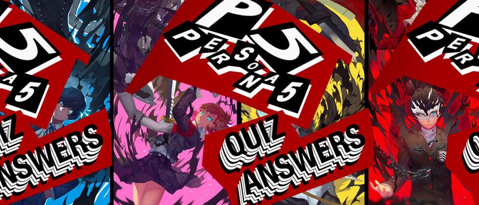 Persona 5 Quiz Answers Walkthrough: Easy Guide Time!