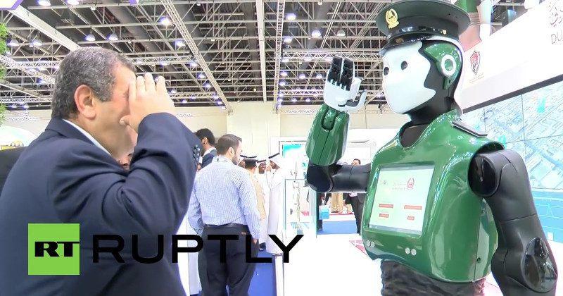 "Dubai's ""real Robocop"" starts its active duty"