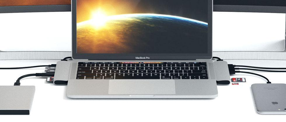 MacBook Pro gets its ports back (VIA Satechi)