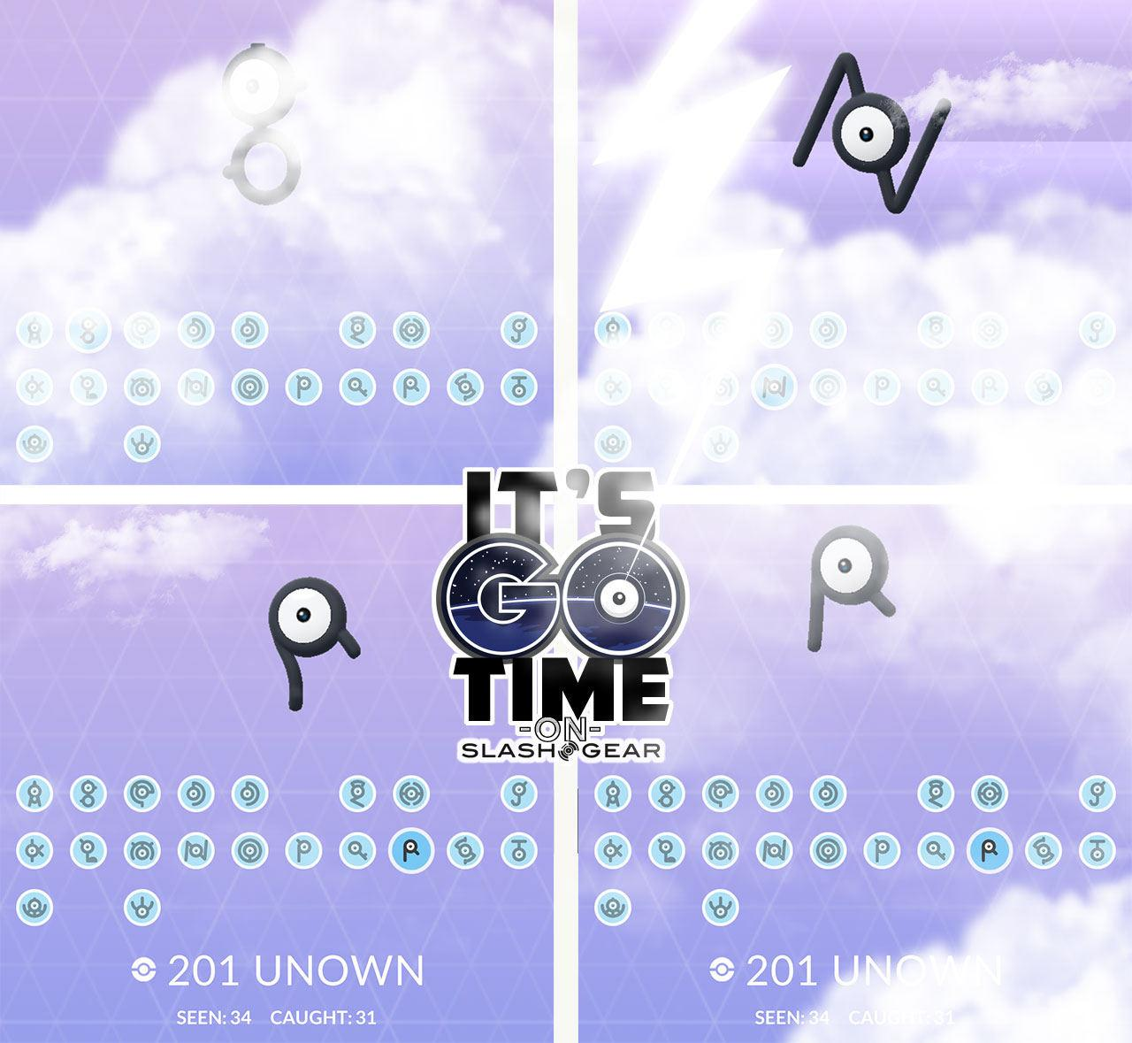 Unown Events 2019
