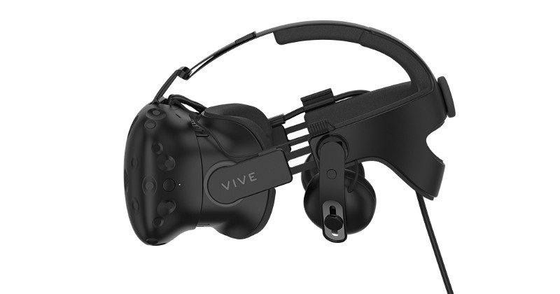 HTC Vive gets a head strap with built-in audio next month