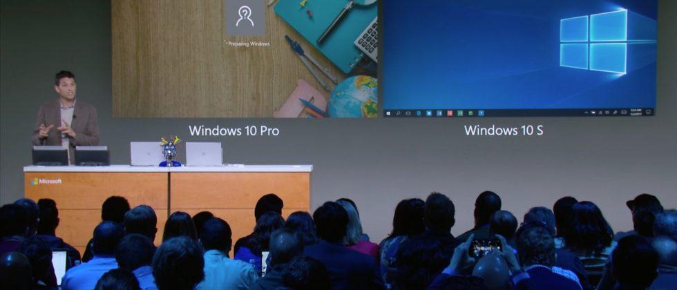 Microsoft's Chromebook-eating Windows 10 S notebooks start at $189