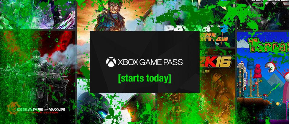 Xbox Game Pass released today [it's basically Netflix for games]