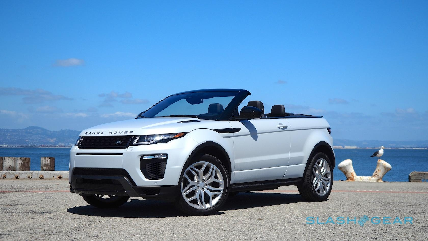 range rover evoque convertible review droptop suv an acquired taste slashgear. Black Bedroom Furniture Sets. Home Design Ideas
