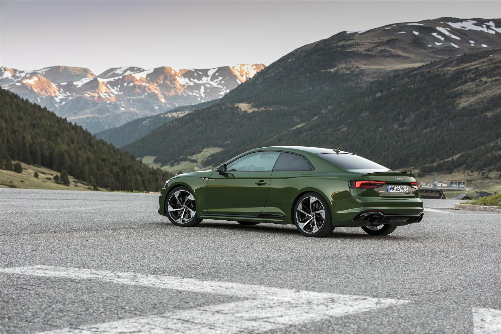 2018 Audi Sport RS 5 Coupe First-Drive Review: A go-anywhere