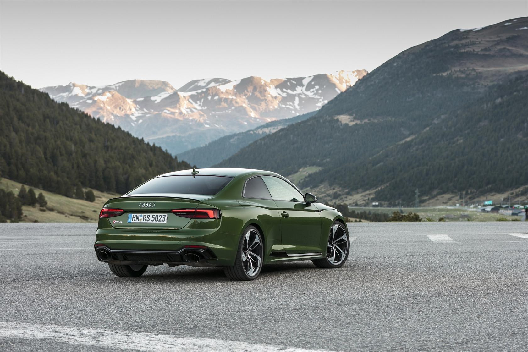 2018 Audi Sport RS 5 Coupe First-Drive Review: A go-anywhere grand