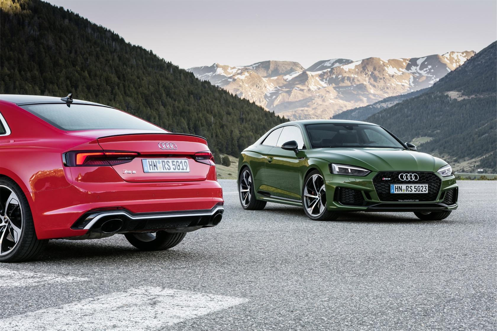 2018 Audi Sport Rs 5 Coupe First Drive