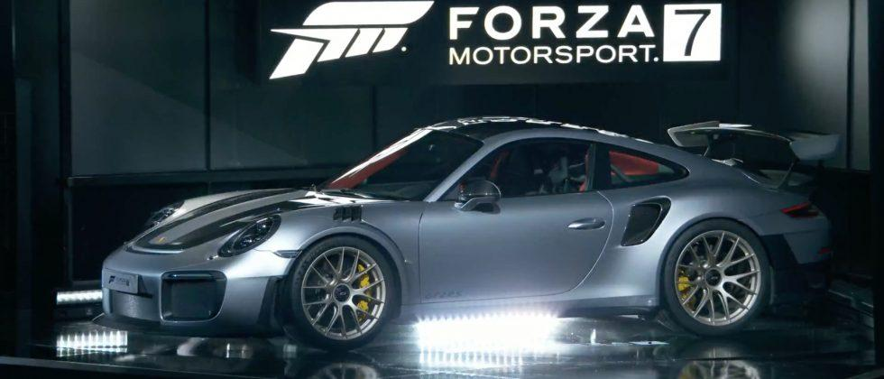 The 2018 Porsche 911 GT2 RS is supercar star of Forza 7 on Xbox One X