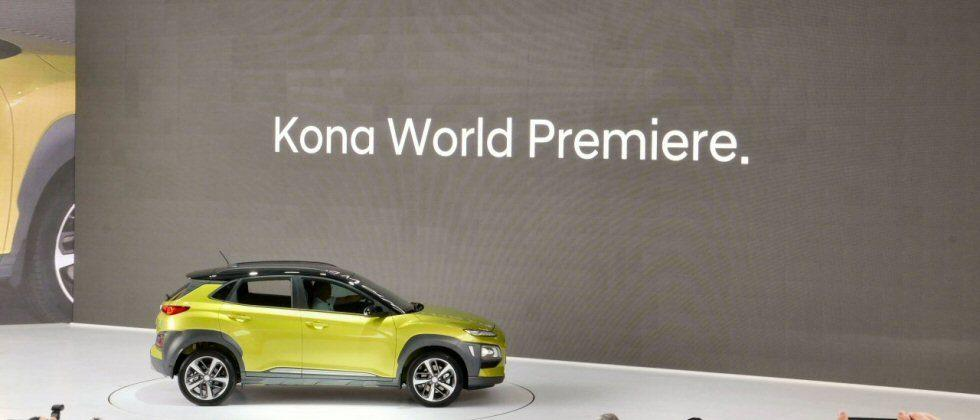 Hyundai Kona SUV debuts in Seoul, offers entry-level family fare with style