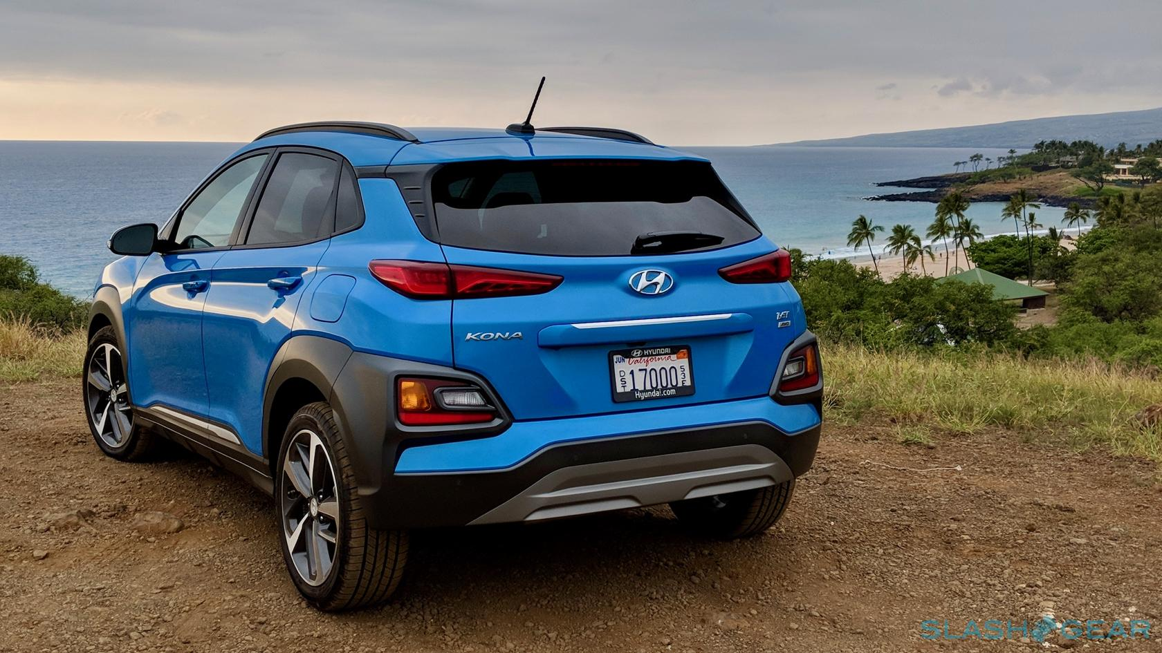 2018 hyundai kona review a subcompact crossover suv with an attitude slashgear. Black Bedroom Furniture Sets. Home Design Ideas