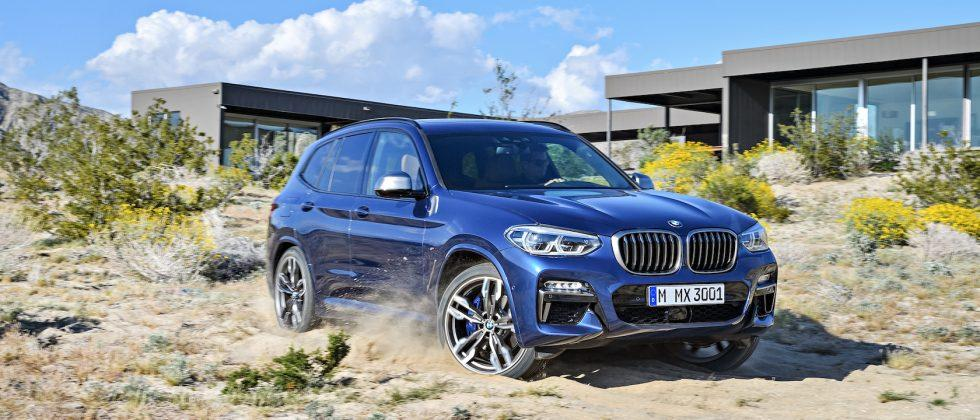 The 2018 BMW X3 is here… and there's an M Sport version