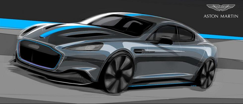 Aston Martin RapidE all-electric car gets green light for 2019