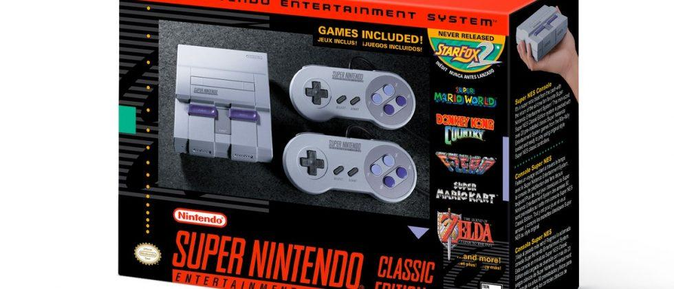 SNES Classic release date and sale details