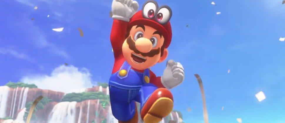 Super Mario Odyssey release date and hats