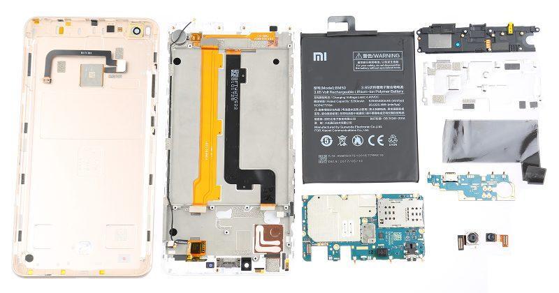 Xiaomi Mi Max 2 teardown hints at an easy to repair mid-ranger