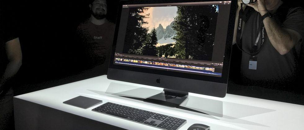 The iMac Pro is the gorgeous Darth Vader of Apple products