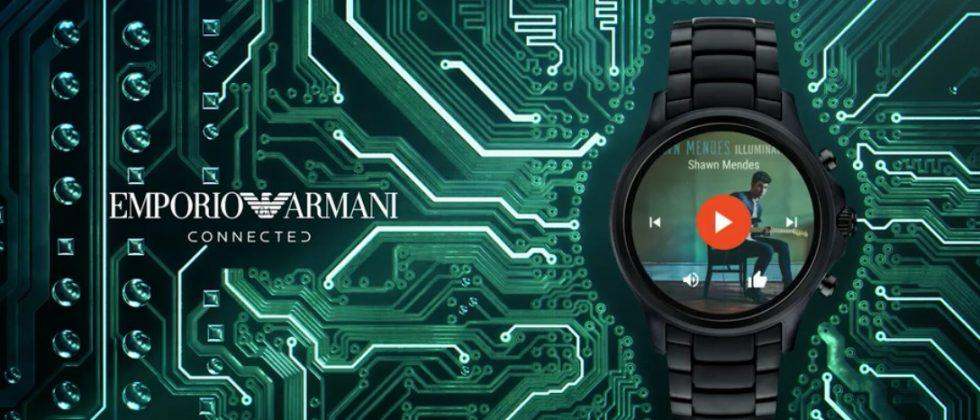 Armani new Android Wear smartwatch will be available in September