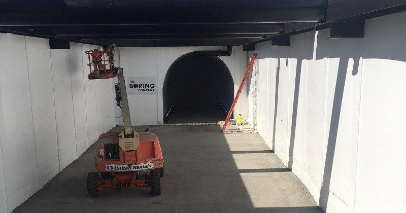 Elon Musk's Boring Company finishes first tunnel segment in LA