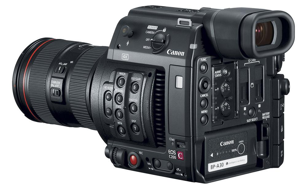 Canon EOS C200 and C200B cinema cameras arrive in August
