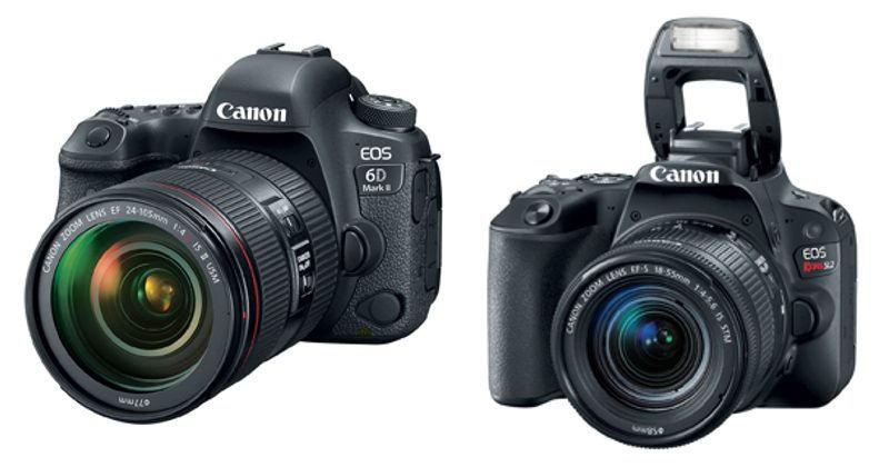 Canon EOS 6D Mark II, Rebel SL2 missed the 4K video boat