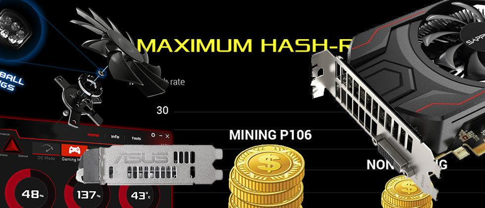 Bitcoin Mining graphics cards released by ASUS, Sapphire with NVIDIA