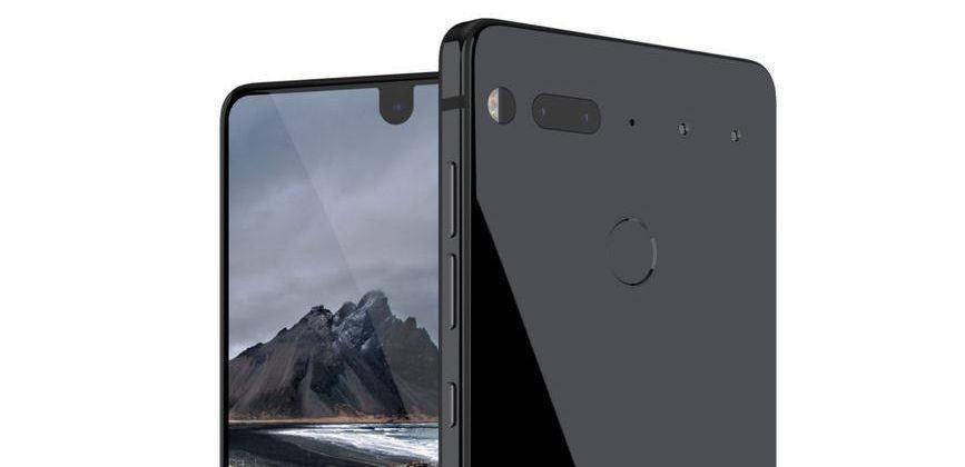 Essential phone inbound, stops by FCC
