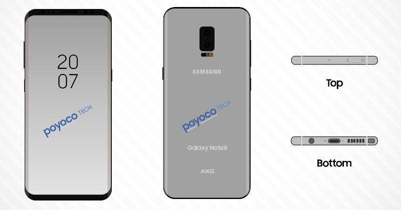 Latest leaks show best Galaxy Note 8 features yet