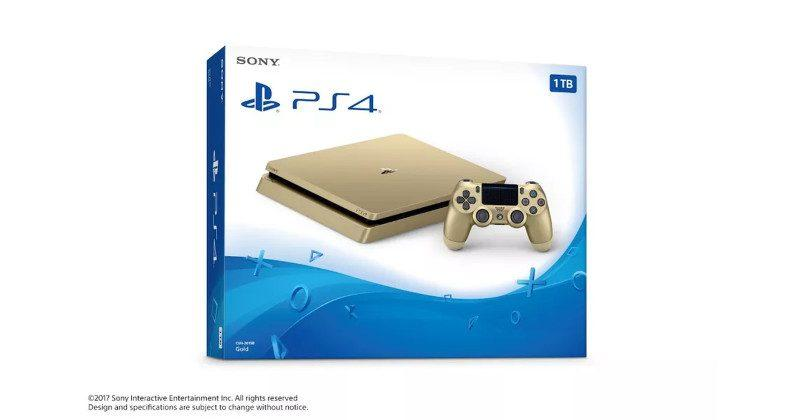 PS4 Gold Edition is ironically cheaper than normal PS4