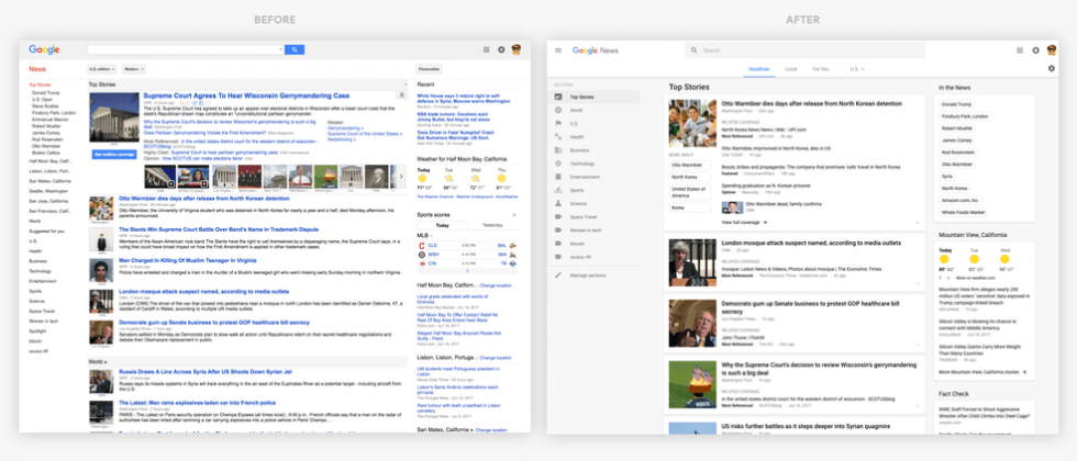 Google News redesign goes live: It's not just you - SlashGear