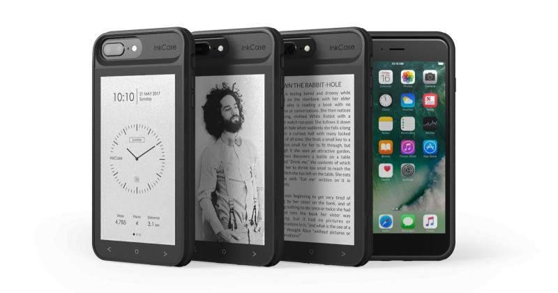 InkCase i7 gives the iPhone 7 an e-ink screen on the back