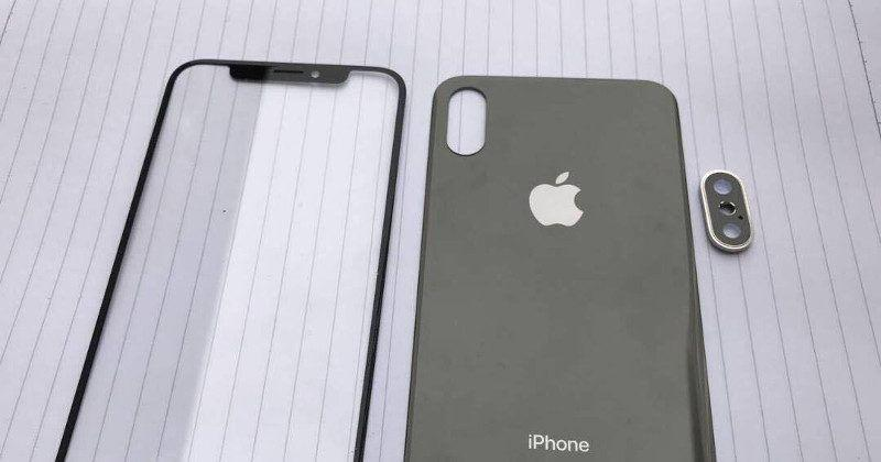 iPhone 8, 7s leaked front and back panels look legit
