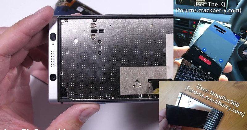 BlackBerry KEYone breaks spectacularly in bend test