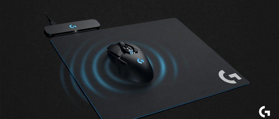 Logitech's whole Powerplay mouse pad wirelessly charges its gaming mice