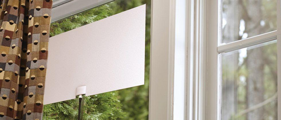 Mohu Leaf Glide HD indoor TV antenna has a 65-mile range
