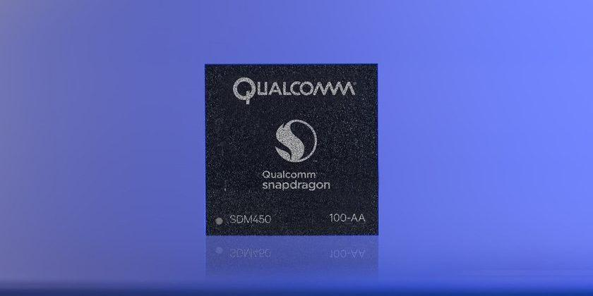 Qualcomm Snapdragon 450 launches to tackle mid-range devices