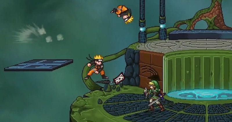 Super Smash Flash 2 has everyone, should have kitchen sink