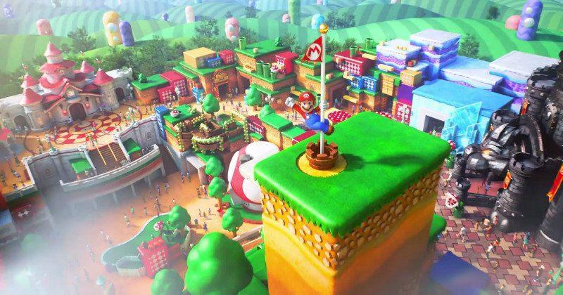 Super Nintendo World's main attraction will be Mario Kart