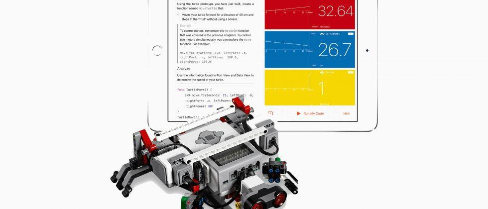 Apple's Swift Playgrounds gets robot hook-up with LEGO, Parrot, more
