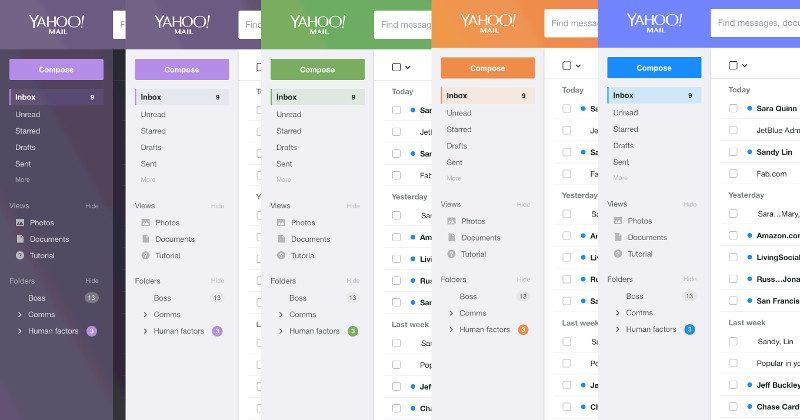 Yahoo Mail gets a paint job, Pro version, still has users