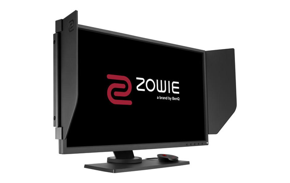 BenQ ZOWIE monitor has blinders to keep your head in the game