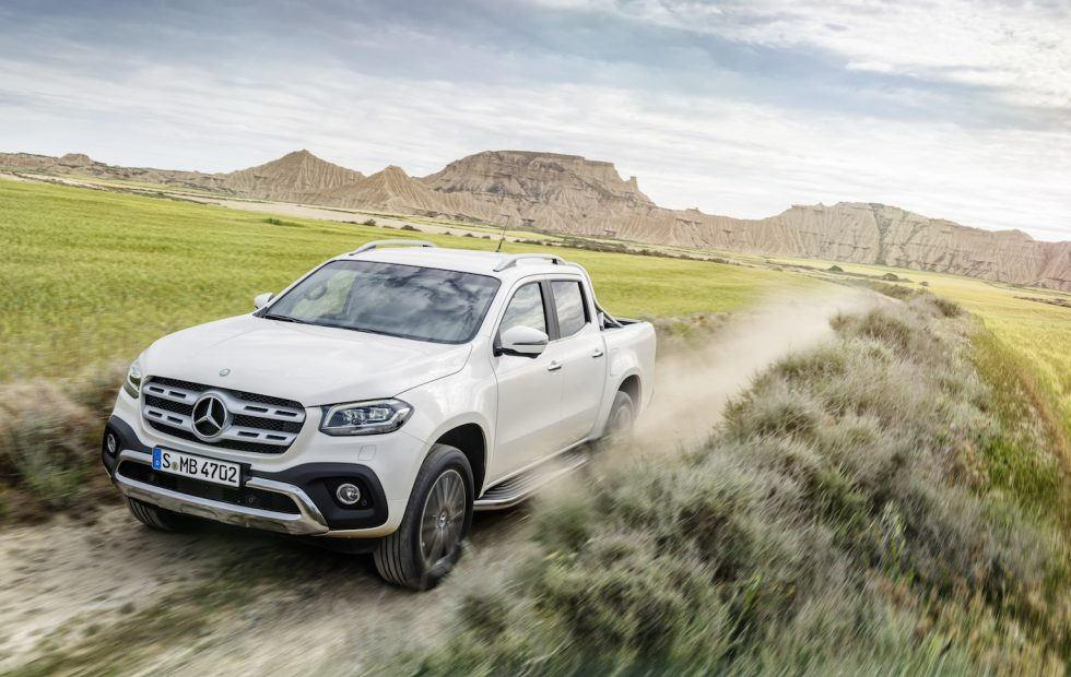 2018 Mercedes-Benz X-Class pickup revealed: Rugged luxury
