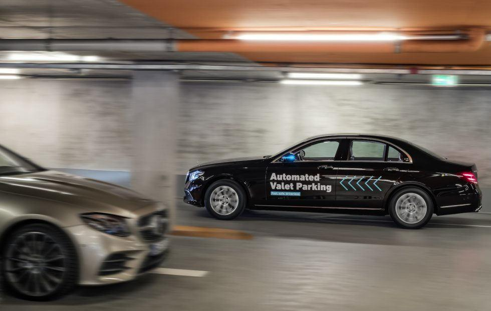 Mercedes autonomous valet garage: No tips required