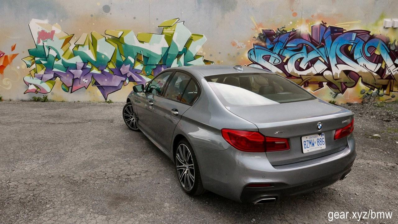 If I Had To Pick A What Liked Least About The 2017 Bmw 540i Xdrive That Would Be Its Pricing M Not Here Complain Luxury Car Being Marketed