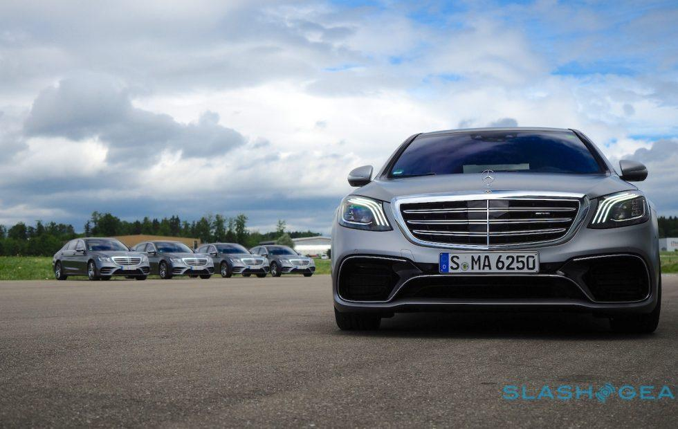 Mercedes wireless charging car system will launch in 2018