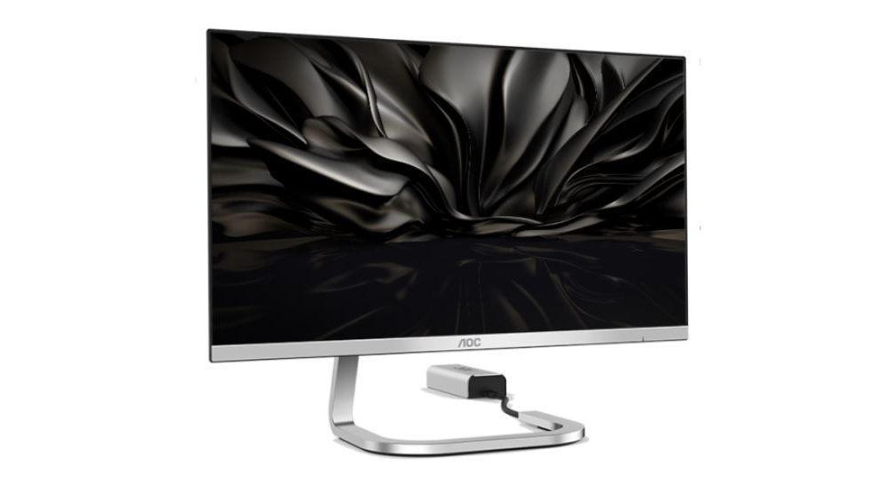 New AOC monitors go near-borderless, modular