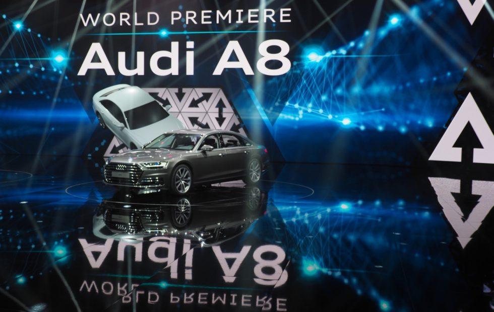 Meet the new 2019 Audi A8, a self-driving super-luxury sedan
