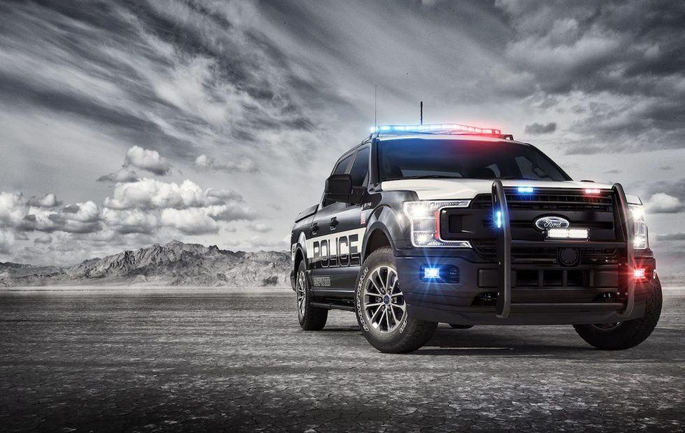 Ford F-150 Police Responder gives pickup a pursuit makeover