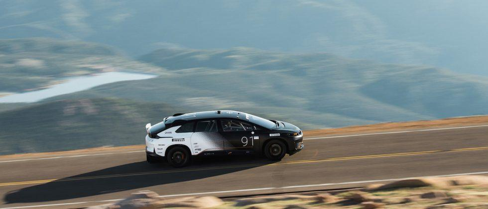 Faraday Future's FF91 sets new EV record at Pikes Peak