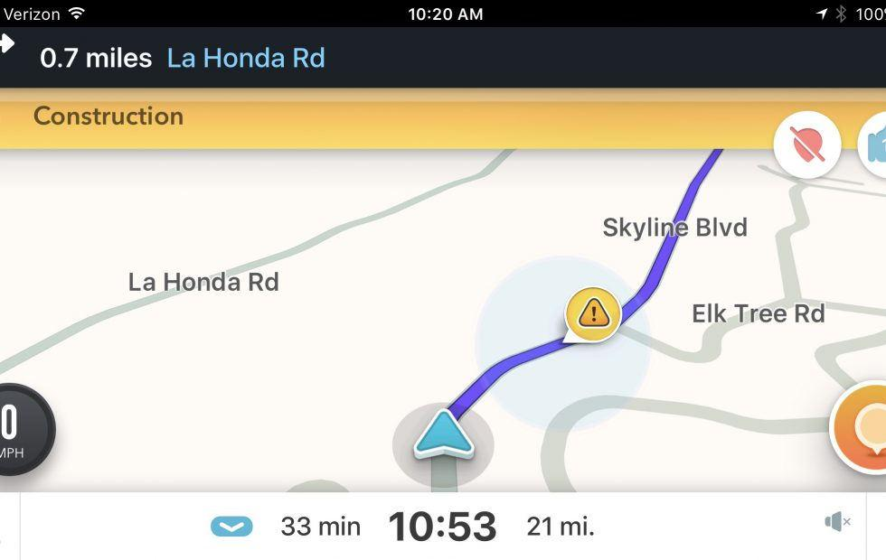 Waze for iPhone can now give directions in your own voice - SlashGear