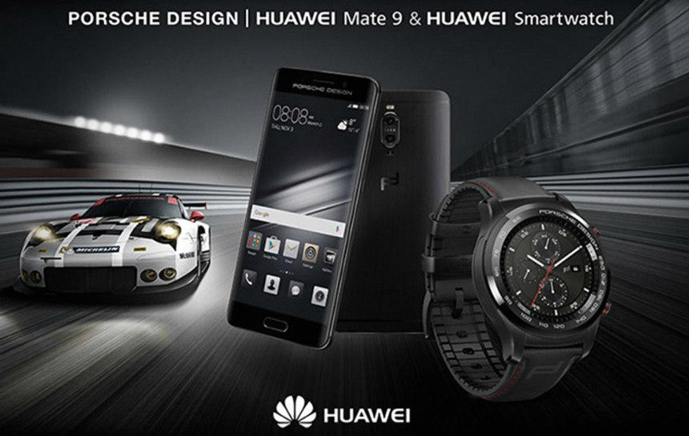 Porsche Design Huawei Smartwatch is now available in Europe